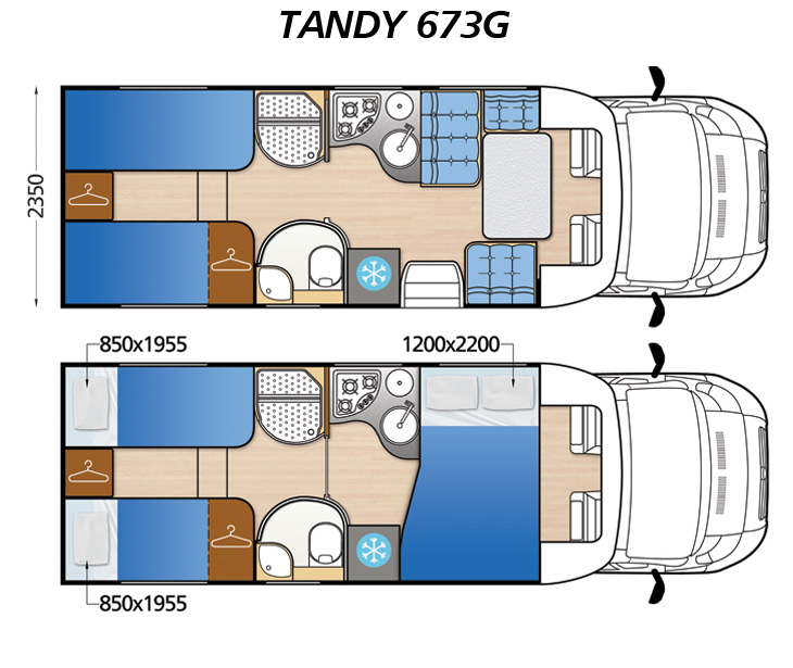 Wohnmobil Tandy 673G